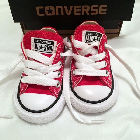 8937ccbdc9e NIB Converse Chuck Taylor All Star 7J236 Red Inf 2